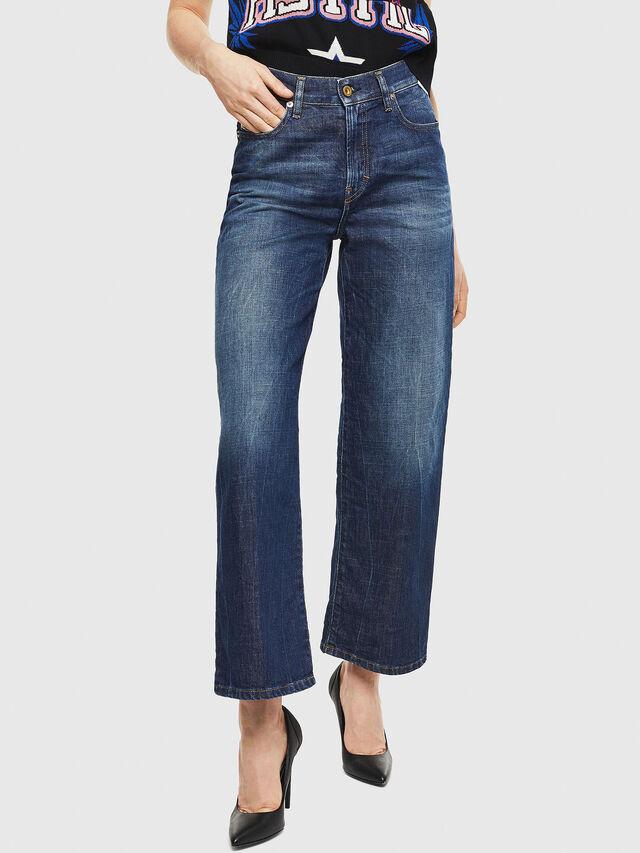 Diesel - Widee 0090W, Dark Blue - Jeans - Image 1