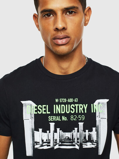 Diesel - T-DIEGO-S13, Black - T-Shirts - Image 3