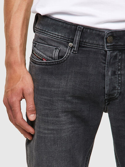 Diesel - Sleenker 09A18, Black/Dark grey - Jeans - Image 4
