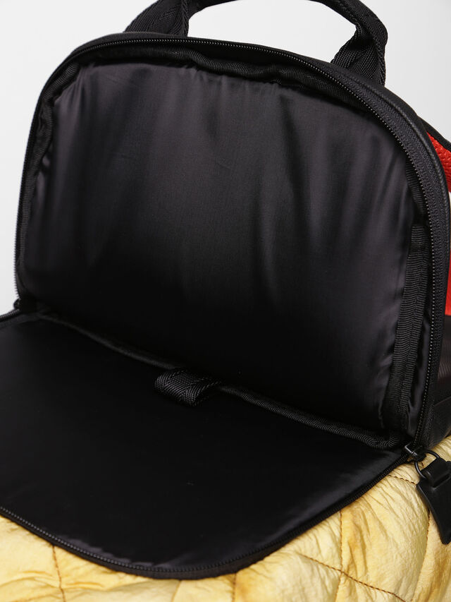 Diesel - F-HEYODA BACK, Yellow - Backpacks - Image 6