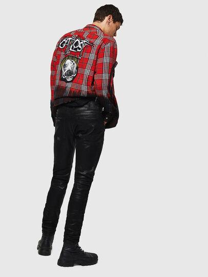 Diesel - Sleenker 0091F, Black/Dark grey - Jeans - Image 2