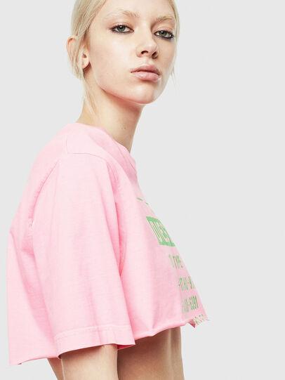 Diesel - T-CROPPY, Pink - T-Shirts - Image 6