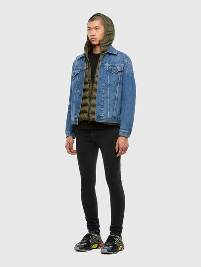 Diesel - W-DWAIN, Military Green - Winter Jackets - Image 5