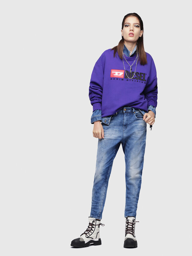 Diesel - Candys JoggJeans 080AS, Medium blue - Jeans - Image 4