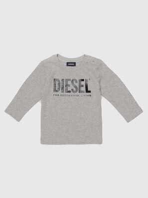 TJUSTLOGOB ML, Grey - T-shirts and Tops