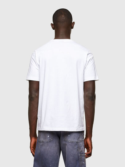 Diesel - T-JUST-A43, White - T-Shirts - Image 2