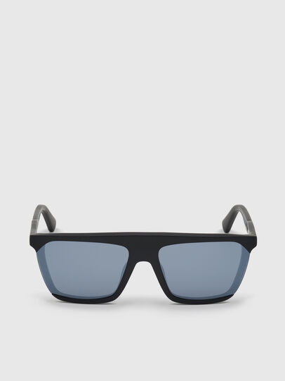 Diesel - DL0323, Black - Sunglasses - Image 1