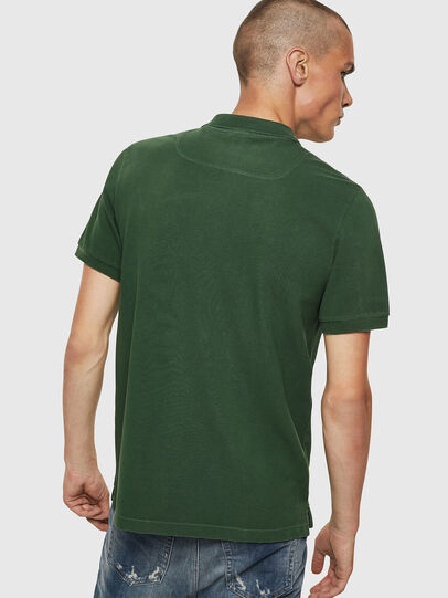 Diesel - T-NIGHT-NEW, Dark Green - Polos - Image 2