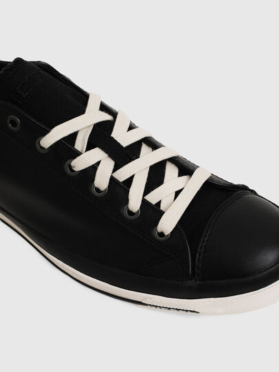 Diesel - EXPOSURE LOW I, Black - Sneakers - Image 4