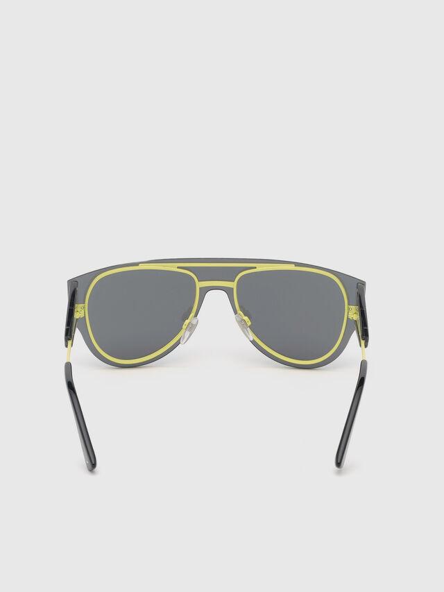 Diesel - DL0273, Black/Yellow - Eyewear - Image 4