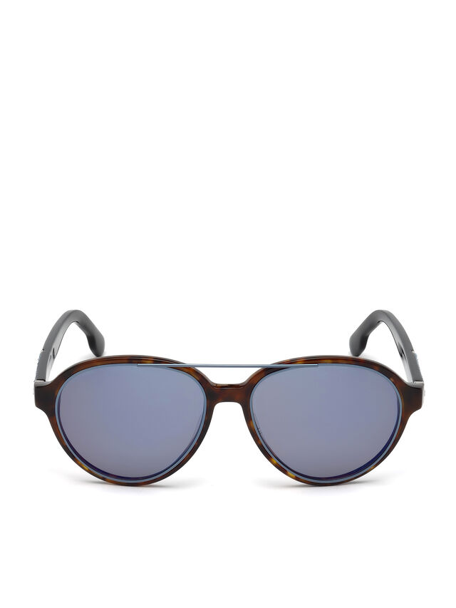 Diesel - DL0214, Brown - Sunglasses - Image 1