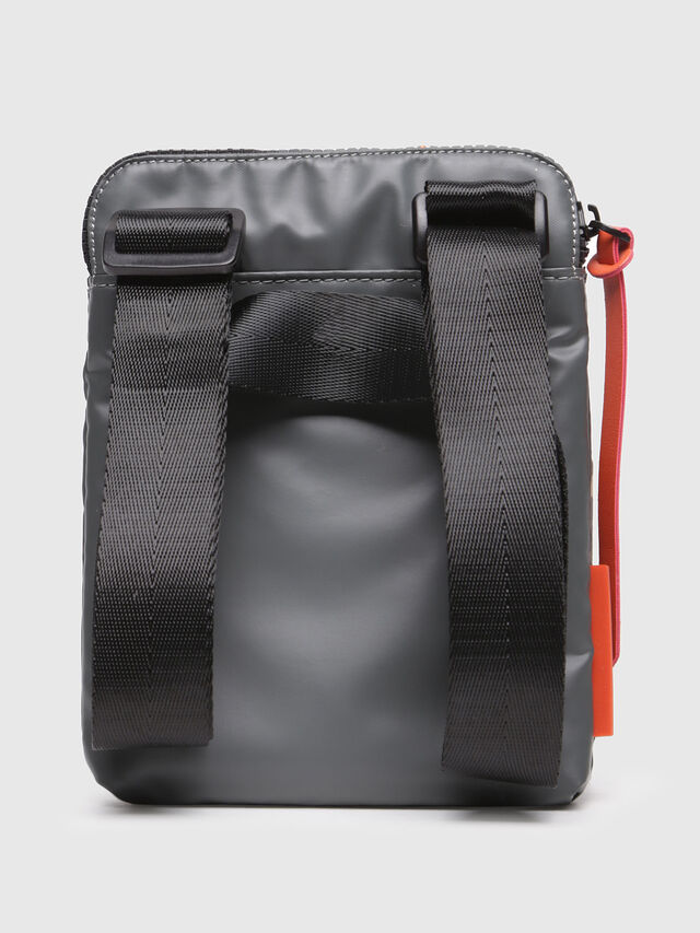Diesel - F-DISCOVER SMALLCROS, Grey - Crossbody Bags - Image 2