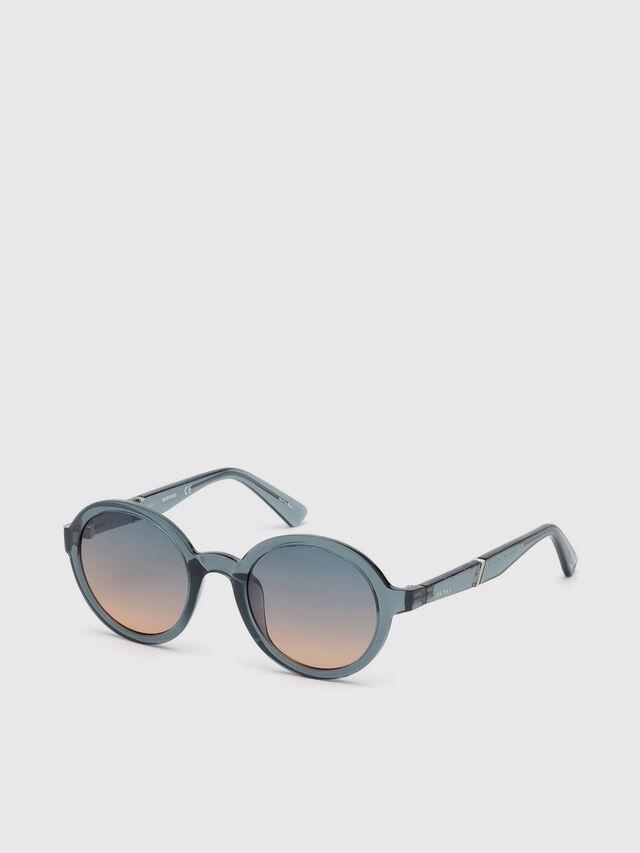 Diesel - DL0264, Blue - Sunglasses - Image 2
