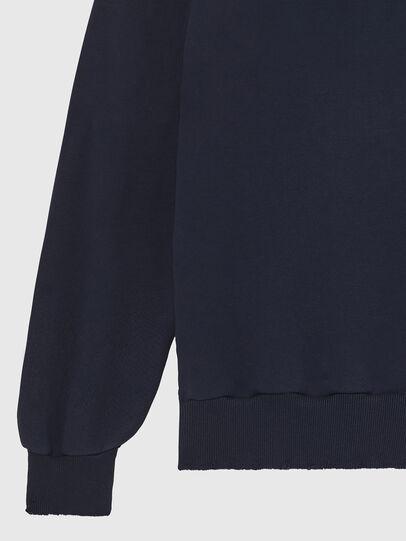 Diesel - S-GIR-HOOD-DIVISION-, Dark Blue - Sweaters - Image 5