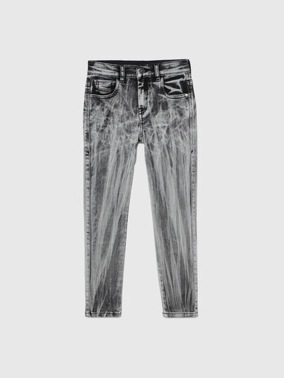 Diesel - D-SLANDY-HIGH-J, Black - Jeans - Image 1