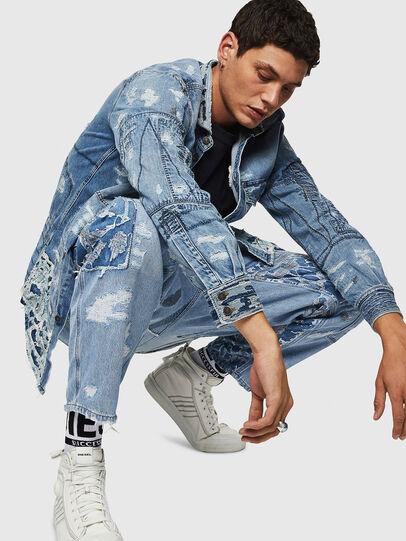 Diesel - D-HARU-SY, Blue Jeans - Jumpsuits - Image 3