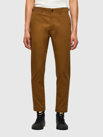 Diesel - P-JAX, Brown - Pants - Image 1
