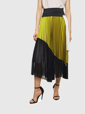 O-ESCY, Black/Yellow - Skirts
