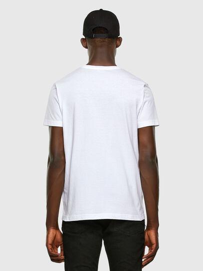 Diesel - T-DIEGOS-K34, White - T-Shirts - Image 5