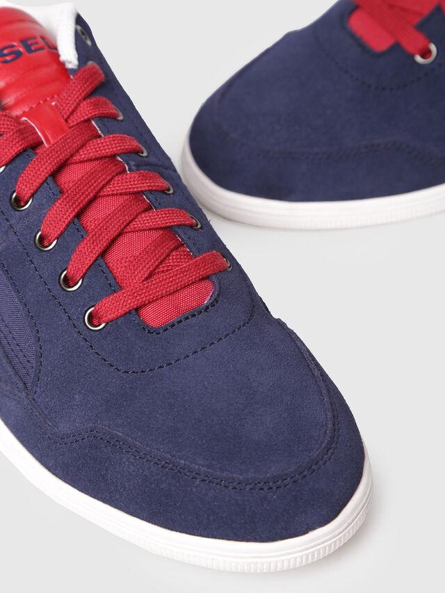 Diesel - S-HAPPY LOW, Navy Blue - Sneakers - Image 4