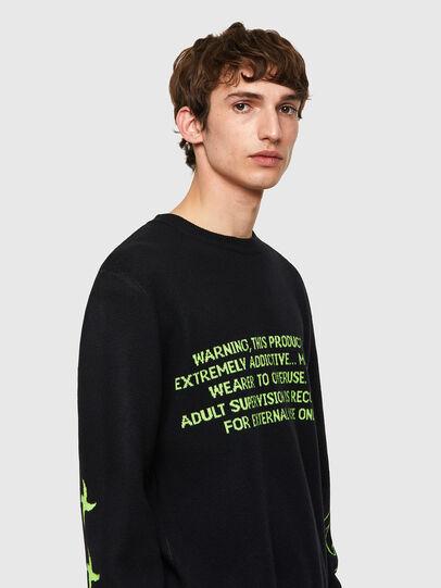 Diesel - K-ONTARIO, Black - Knitwear - Image 3