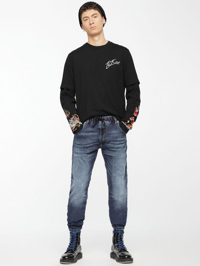 Diesel - Krooley JoggJeans 0699Z, Medium blue - Jeans - Image 6