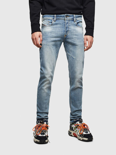 Diesel - Sleenker CN057, Light Blue - Jeans - Image 1