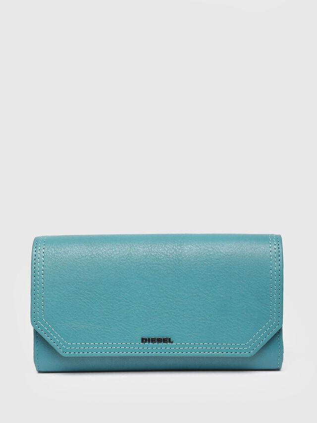 Diesel - GIPSI, Water Green - Small Wallets - Image 1