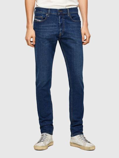 Diesel - D-Luster 009NN, Dark Blue - Jeans - Image 1