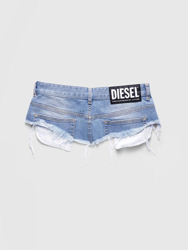 Diesel - BELT LOW WAIST, Light Blue - Skirts - Image 2