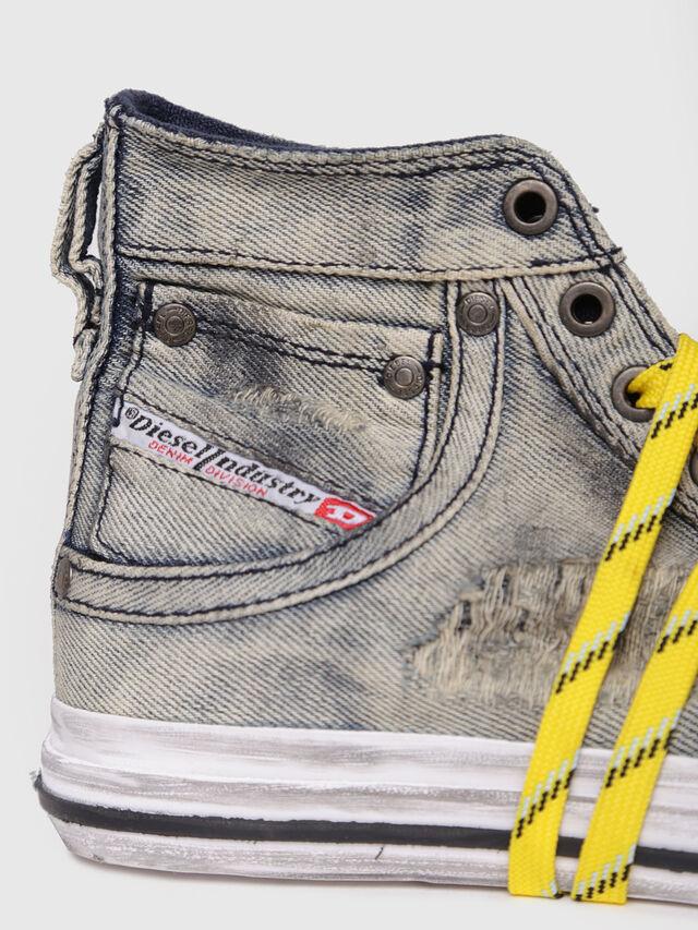 Diesel - EXPOSURE IV W, Grey/Blue - Sneakers - Image 4