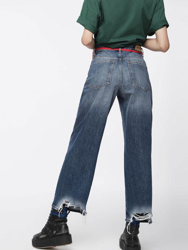 Diesel - Widee 085AG, Medium blue - Jeans - Image 2