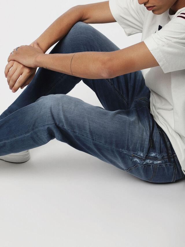 Diesel - Narrot JoggJeans 069BB, Medium blue - Jeans - Image 4