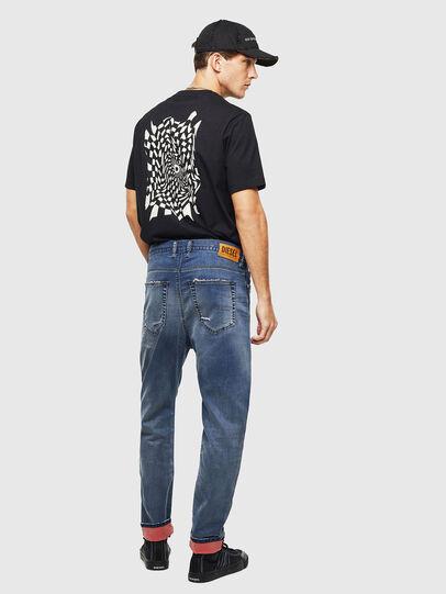 Diesel - D-Vider JoggJeans 069LW, Dark Blue - Jeans - Image 7