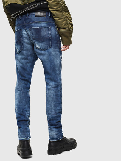 Diesel - Krooley JoggJeans 0097N, Dark Blue - Jeans - Image 2