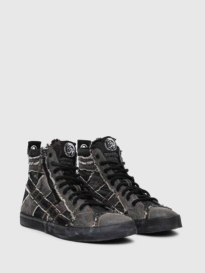 Diesel - D-VELOWS MID LACE, Grey Jeans - Sneakers - Image 2