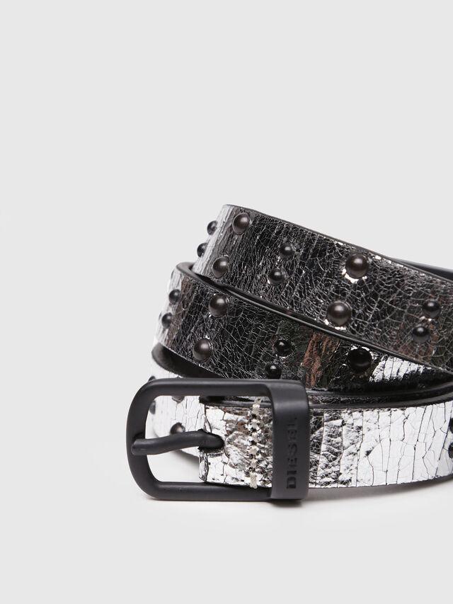 Diesel - B-GABRIELLE, Silver/Black - Belts - Image 2