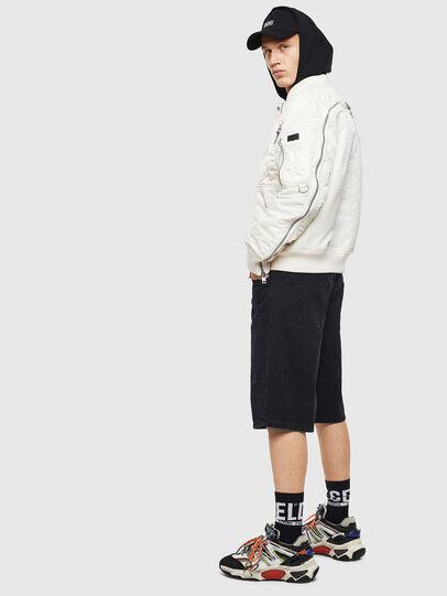 Diesel - D-BRON, Black/Dark grey - Shorts - Image 6