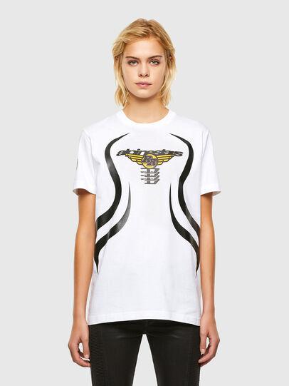 Diesel - ASTARS-T-DIEGOS-A-FL, White - T-Shirts - Image 1
