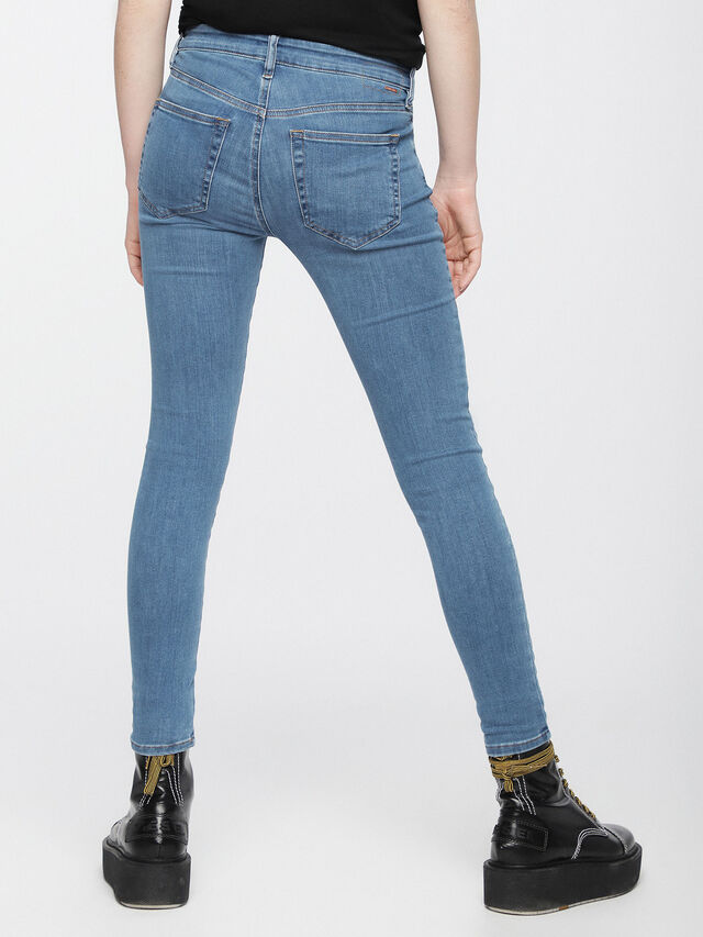 Diesel - Slandy 069AM, Light Blue - Jeans - Image 3