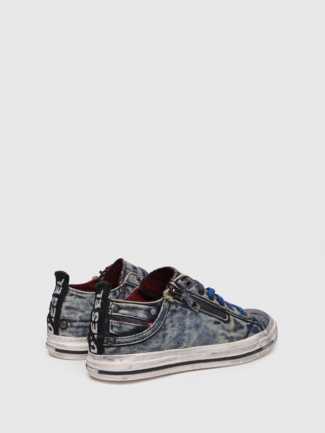 Diesel - EXPO-ZIP LOW W, Blue Jeans - Sneakers - Image 2