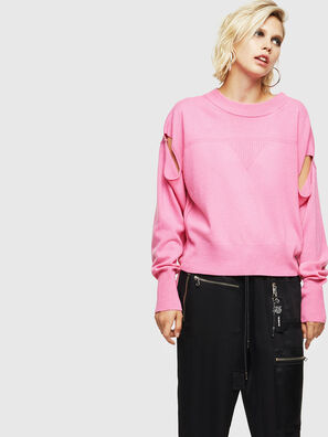 M-CRISTAL, Pink - Knitwear