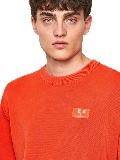 Diesel - K-JERSEY, Orange - Knitwear - Image 3