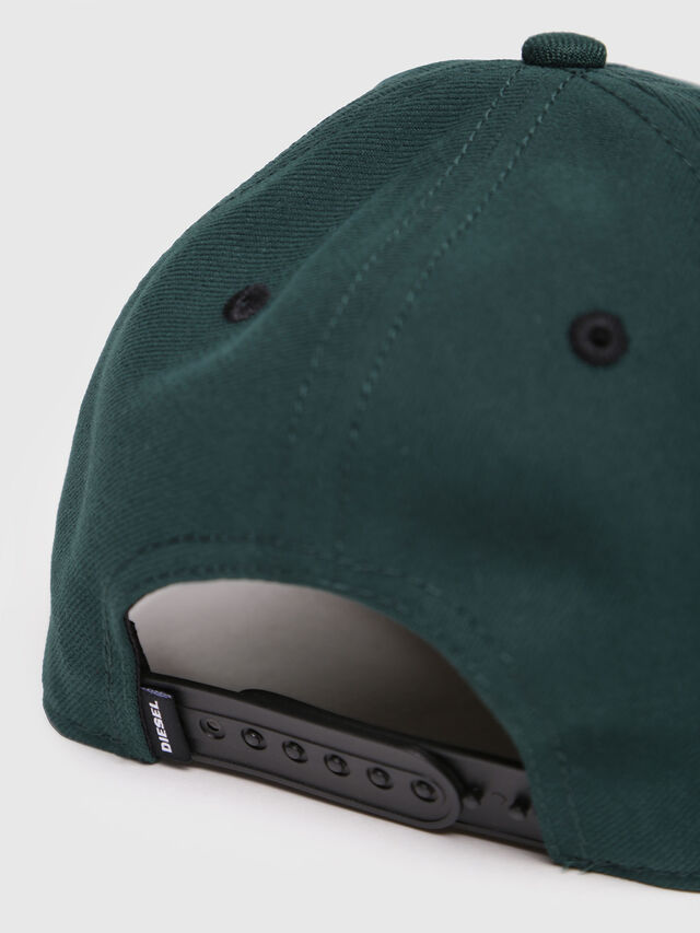 Diesel - CAKERYM-MAX, Bottle Green - Caps, Hats and Gloves - Image 3