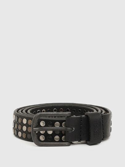 Diesel - B-FRAM, Black - Belts - Image 1