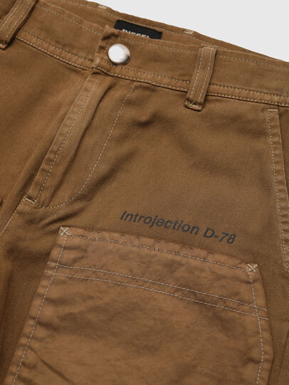 Diesel - PTRENT, Brown - Pants - Image 3
