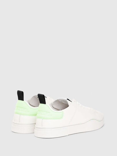 Diesel - S-CLEVER LS W, White/Green - Sneakers - Image 3