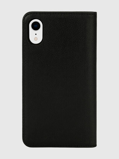 Diesel - DIESEL 2-IN-1 FOLIO CASE FOR IPHONE XR, Black/White - Flip covers - Image 2