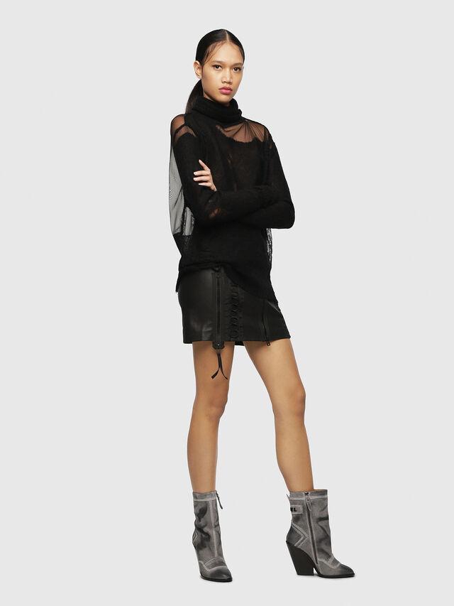 Diesel - D-FLAMINGO B, Grey Melange - Ankle Boots - Image 5