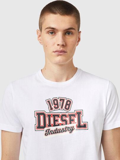 Diesel - T-DIEGOS-K26, White/Red - T-Shirts - Image 3